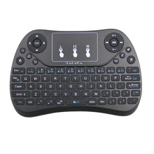лучшая цена Backlit T2 2.4G RF Wireless Air Mouse Keyboard with Touchpad Bluetooth Gaming Keyboard for Android TV Box hisense Smart tv