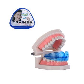 1pc T4K Dental Tooth Orthodontic Appliance Trainer Alignment Braces Mouthpieces For Teeth Straight /Alignment Tooth Care new type tooth orthodontic dental appliance trainer pro alignment braces mouthpieces for teeth straight alignment teeth care