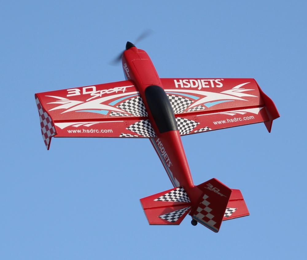 HSD Jet D400 3D Fly Sport RC Airplane Model Hobby