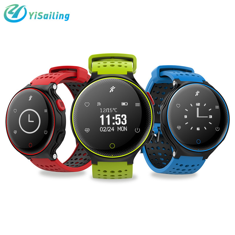 imágenes para X2 inteligente reloj bluetooth perseguidor de la aptitud Del Ritmo Cardíaco del deporte pulsera Inteligente smartwatch IP68 A Prueba de Agua de La Presión Arterial
