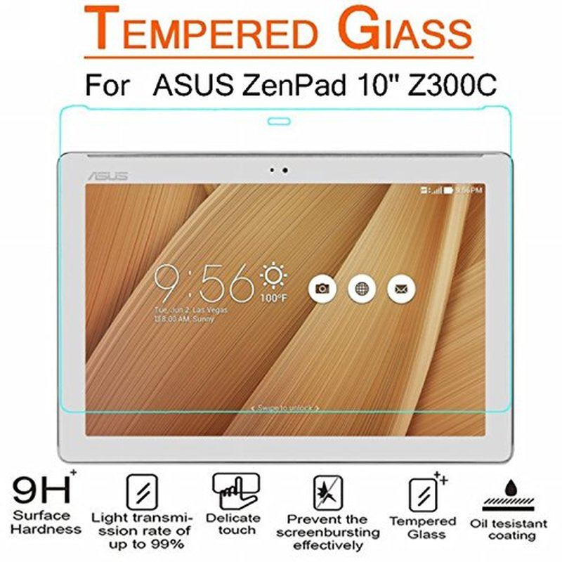 Screen Protector Tempered Glass For ASUS ZenPad Z300 Z300CX Z300CG Z300CL Z301M Z301MFL P023 P00C P01A P00L Tablet Screen Guard