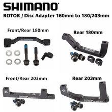Shimano Original Sm-ma Brake Rotor Disc Adapter 180mm 203mm R180p/s , R203p/s F180p/p F203p/p Apply Rt86 Rt81 Rt56