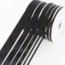 Black Color Tapes Grosgrain Ribbon Sizes 1/8 1/4 3/81/2 5/8 3/4 7/8 1 1-1/2 23 4 3mm 6mm 9mm 19mm 22mm 25mm 38mm