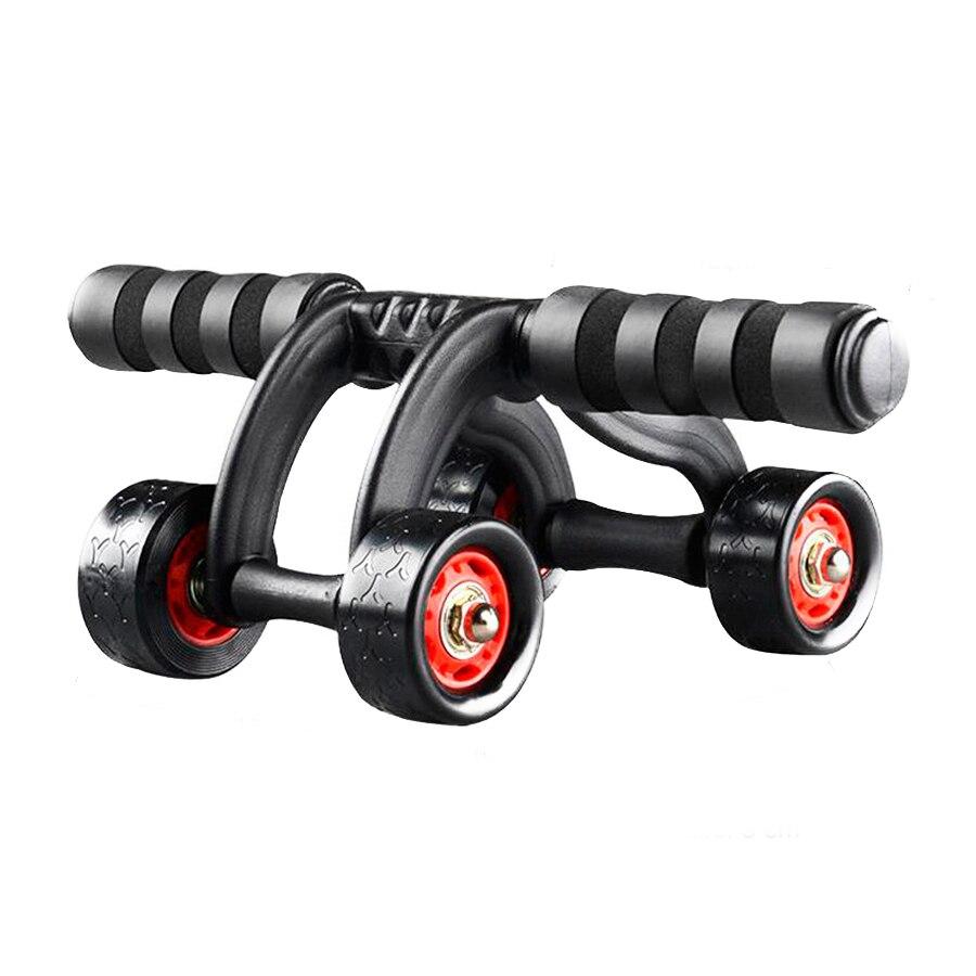 Roue abdominale de rouleau de la puissance AB de 4 roues pour le ventre/taille/bras/jambes d'entraînement