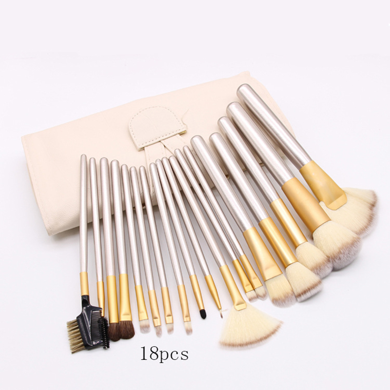 12 pcs/18pcs/24pcs Makeup Brushes Professional Synthetic Cosmetic Makeup Brush Foundation Eyeshadow Eyeliner Brushing Brush Kits 24pcs professional makeup set pro kits brushes eyebrow eyeshadow brush kabuki cosmetics brush tool