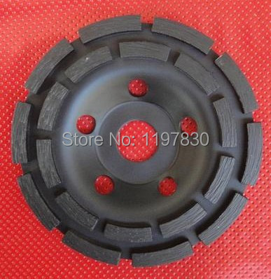 Free shipping of hot sintering 230mm*22mm*5mm double rows diamond cup grinding wheel for good grinding marble/granite/concrete power igbt transistor cm400ha1 24h