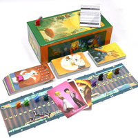 2019 English version dixit 1 2 3 4 5 6 7 board game wood bunny educational kids toys for family activities 12 players cards game