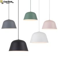 LED Hanglamp Vintage Loft Pendant Light/Pendant Lamps Suspension luminaire Kitchen bedroom Hanging Lightings colorful lampshade