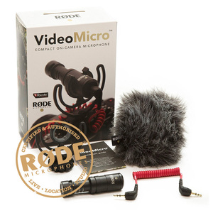 Image 3 - Ulanzi Original Rode VideoMicro On Camera Microphone for Canon Nikon Lumix Sony Smartphones Free Windshield Muff/Adapter Cable