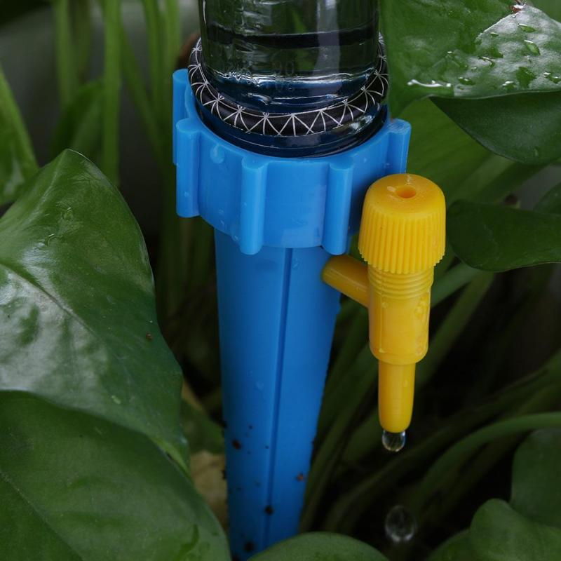 Garden Auto Drip Irrigation Watering System Automatic Watering Spike for Plants Flower Indoor Water Bottle Drip Irrigation in Watering Kits from Home Garden