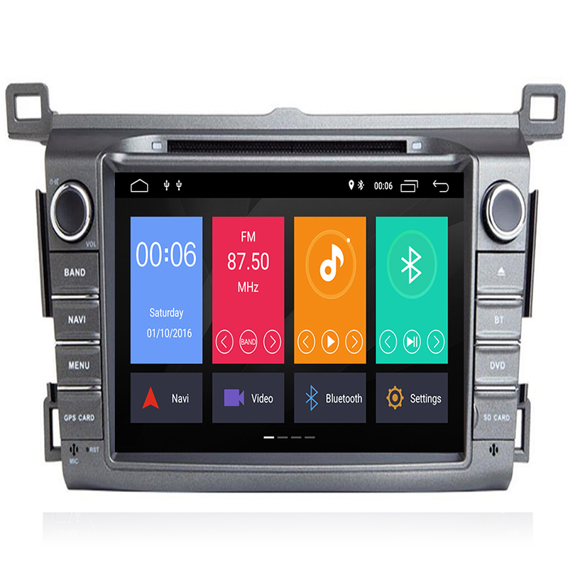 DSP IPS 2 Din Android 9 car multimedia dvd player GPS for <font><b>Toyota</b></font> <font><b>RAV4</b></font> <font><b>Rav</b></font> <font><b>4</b></font> 2013 <font><b>2014</b></font> <font><b>2015</b></font> <font><b>2016</b></font> <font><b>2017</b></font> 2018 car radio Stereo OBD2 image