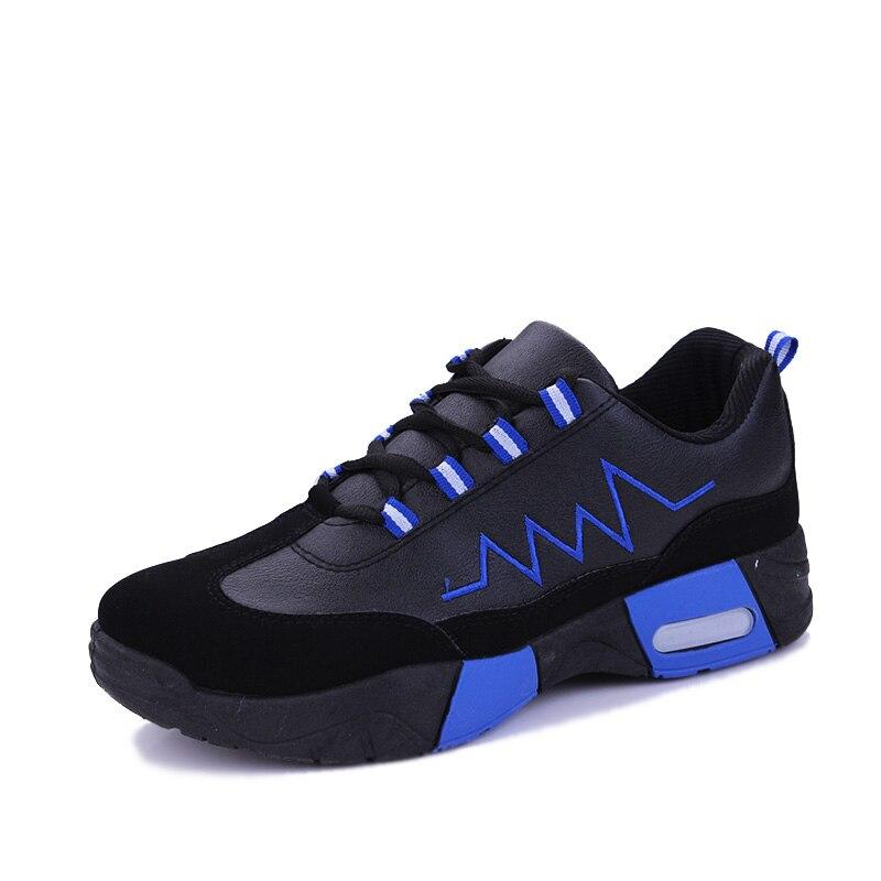 2017 New Classic Style Menn Running Shoes Sport Sko Utendørs Jogging Atletisk Fottøy Komfortabel blonder opp å gå Sneakers