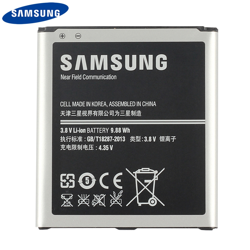 Original Samsung Battery B600BC B600BE For Samsung GALAXY S4 I9500 I9502 GT I9505 I9508 I959 Genuine Battery With NFC 2600mAh in Mobile Phone Batteries from Cellphones Telecommunications