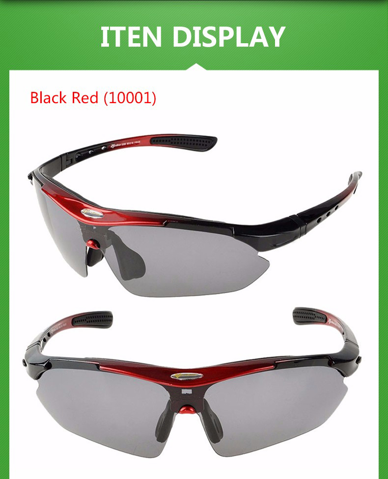 Polarized Sports Men Sunglasses Road Cycling Glasses