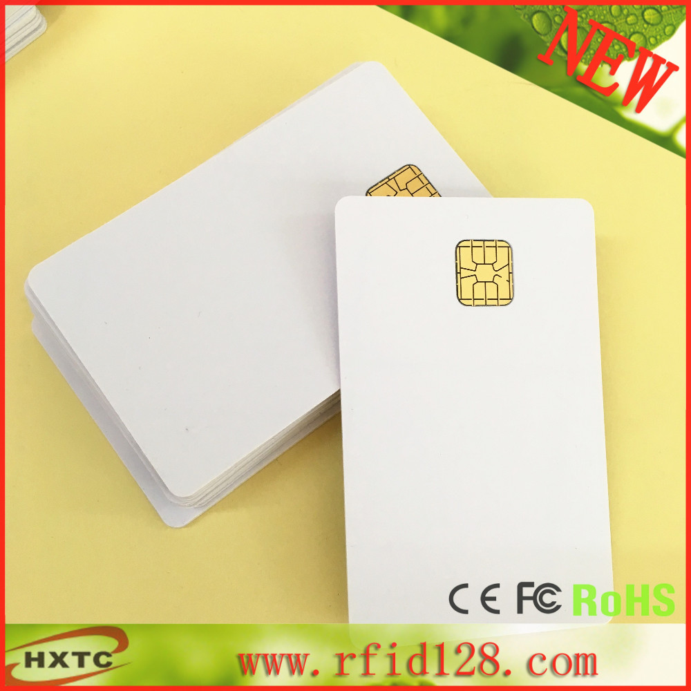 50pcs Contact SLE4428 Chip Smart Blank Card for ACR38U IPC/SPC/N1/ND/1281/38T-D1 Card Reader Writer programmer usb contact smart memory ic sim card reader writer acr38u spc r4 2 pcs sle4442 chip card sdk kit
