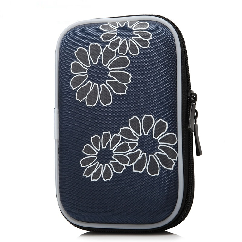 FULCLOU for WD/Seagate/Samsung/Toshiba EVA waterproof shockproof mobile hard disk bag 2.5  digital mobile bag containing bag