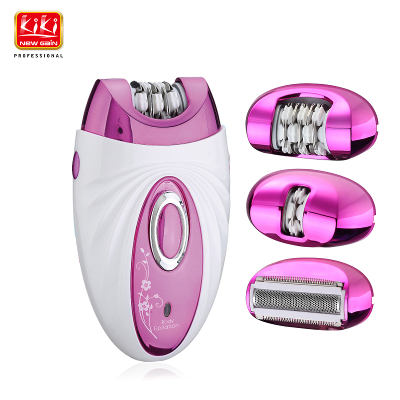 KIKI,Rechargeable Shaver and Epilator.hairs