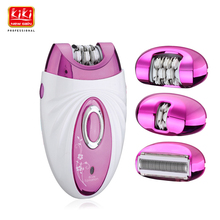 KIKI Rechargeable Shaver and Epilator hair remover Skin care products Lady Epilator environment friendly battery