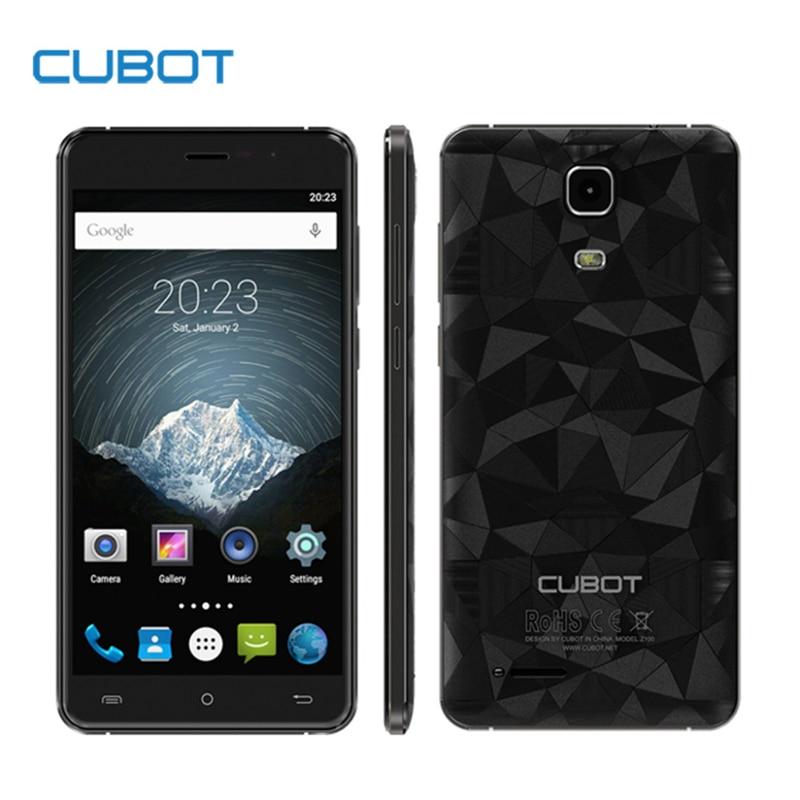 Original CUBOT Z100 Pro 5 0 Inch HD Screen Smartphone 3GB RAM 16GB ROM Cell Phone