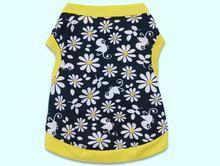1pcs dogs cats fashion printed vest apparel doggy spring summer vests clothes puppy t shirt pet dog cat suit XS S M L
