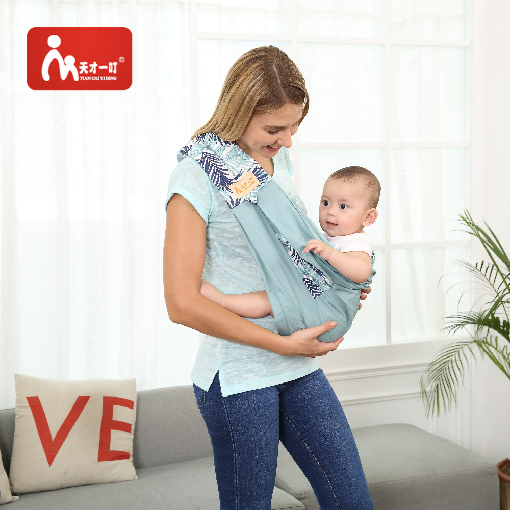 цена на Kangaroobaby Baby Sling Wrap Carrier One Size Fits All Adjustable Pouch for Newborn Ergonomic Infant Baby Carrier Sling Backpack