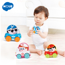 1PC Baby Toys Funny Colorful Cartoon Mini Pull Back Car Toy Model Gift For Kids Wholesale toys