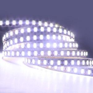Image 4 - 1 メートル 2 メートル 3 メートル 4 メートル 5 メートルledストリップライトsmd 5630 120leds/mの非防水柔軟な 5 メートル 600 ledテープ 5730 DC12Vテープロープランプライト
