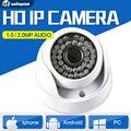720 P 1080 P Купольная HD 1MP CMOS 2-МЕГАПИКСЕЛЬНАЯ Ip-камера Аудио WI-FI CCTV Камеры безопасности Дополнительно ИК 20 м 3.6 мм Объектива Ик-Крытый Использования Onvif