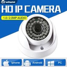 720P 1080P Security CCTV Camera Dome HD CMOS 1MP 2MP IP Camera Audio WIFI Optional IR 20m 3.6mm Lens IR-Cut Indoor Use Onvif