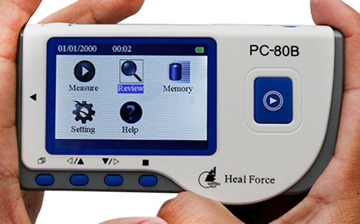 Household Health Monitors Heal Force PC-80B ECG Monitor Measuring Heart Cardiac Detector LCD Electrocardiogram Heart Monitor 7