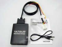 Yatour yt m06 USB MP3 AUX adapter For Nissan Infiniti FX35 G35 M45 Almera Murano Primera Pathfinder Car Digital Music Changer