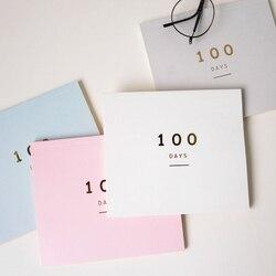 100 يوم العد التنازلي التقويم مخطط اليومي لمدة 100 يوما جدول التعلم جدول مخطط الدوري اللوازم المدرسية القرطاسية