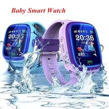 Original GW400S DF25 Smart Baby Watch Swim Waterproof PK Q100 Q90 GPS Kids Watch Touch Screen Location Tracker Russian English