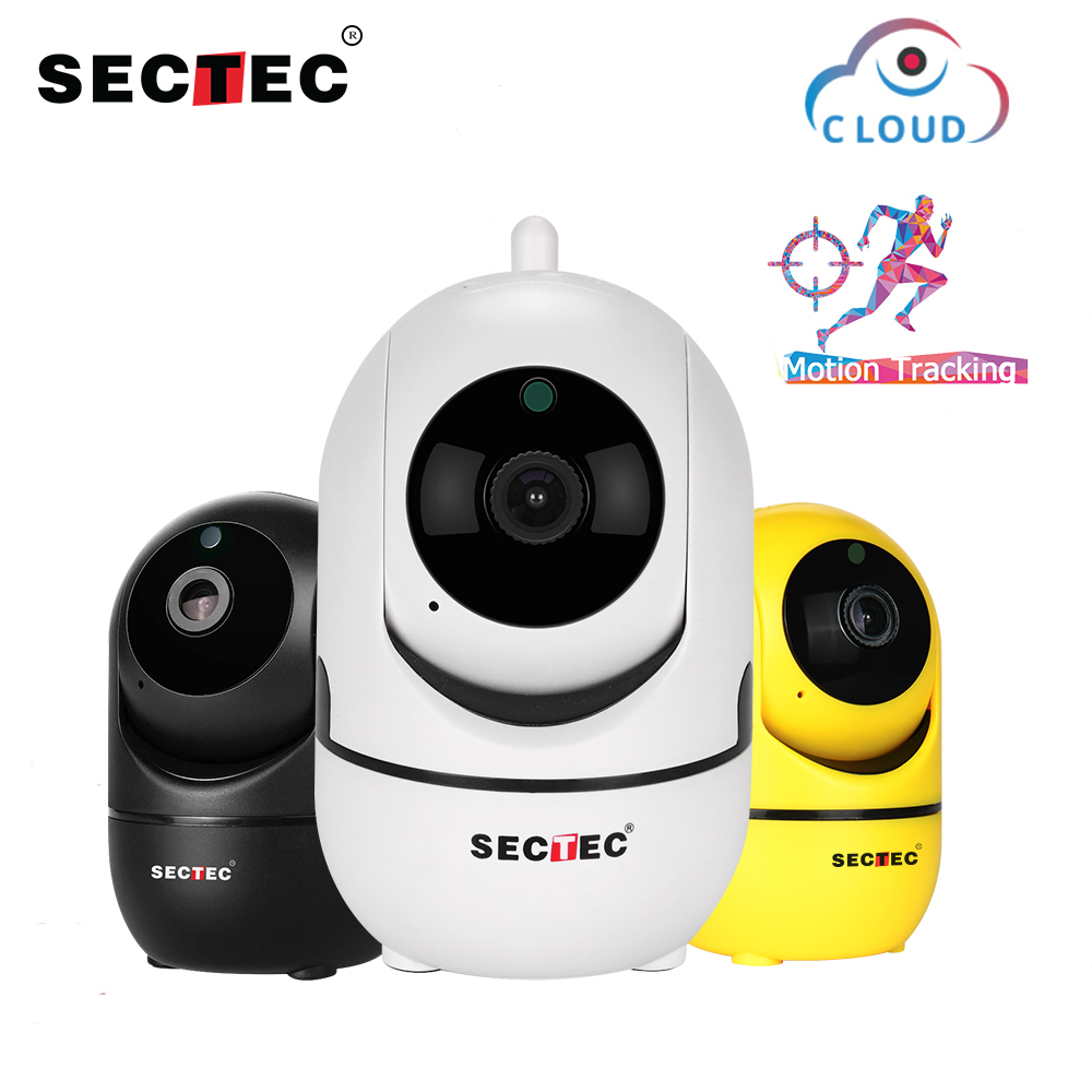 SECTEC 1080P Cloud Wireless IP Camera Intelligent Auto Tracking Of Human Home Security Surveillance CCTV Network