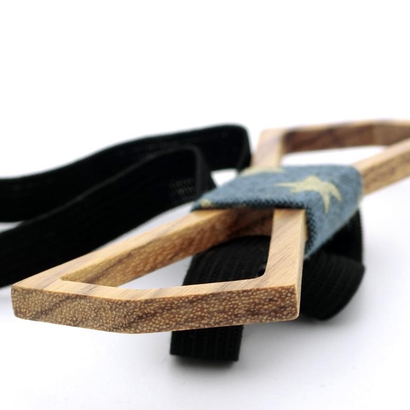 Ricnais New Arrivel Herren Holzfliege Luxus Hohl Design Bowties - Bekleidungszubehör - Foto 4
