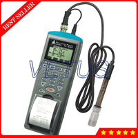 AZ9861 Portable Water Quality Analyzers Meter Digital pH mV Datalogger With Printer function RS232 interface