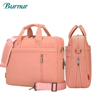 Image 1 - Laptop bag 17.3 17 15 14 13 inch Shockproof airbag waterproof computer bag men and women luxury thick Notebook bag 2018 new