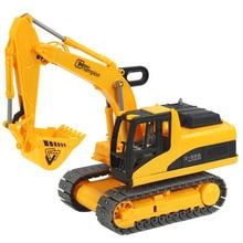 Wind Up Toys Engineering Excavator Digger Kids Childrens
