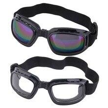 Unisex Safety Goggles Foldable Colorful Anti Glare Polarized Windproof Goggles Anti Fog Sun Protective Adjustable Strap Glasses