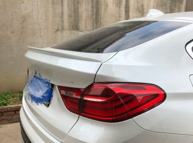 For <font><b>BMW</b></font> X4 <font><b>F26</b></font> <font><b>Spoiler</b></font> rear trunk wing M style High Quality ABS Material <font><b>Spoiler</b></font> Primer and paint color 2015-2018 image