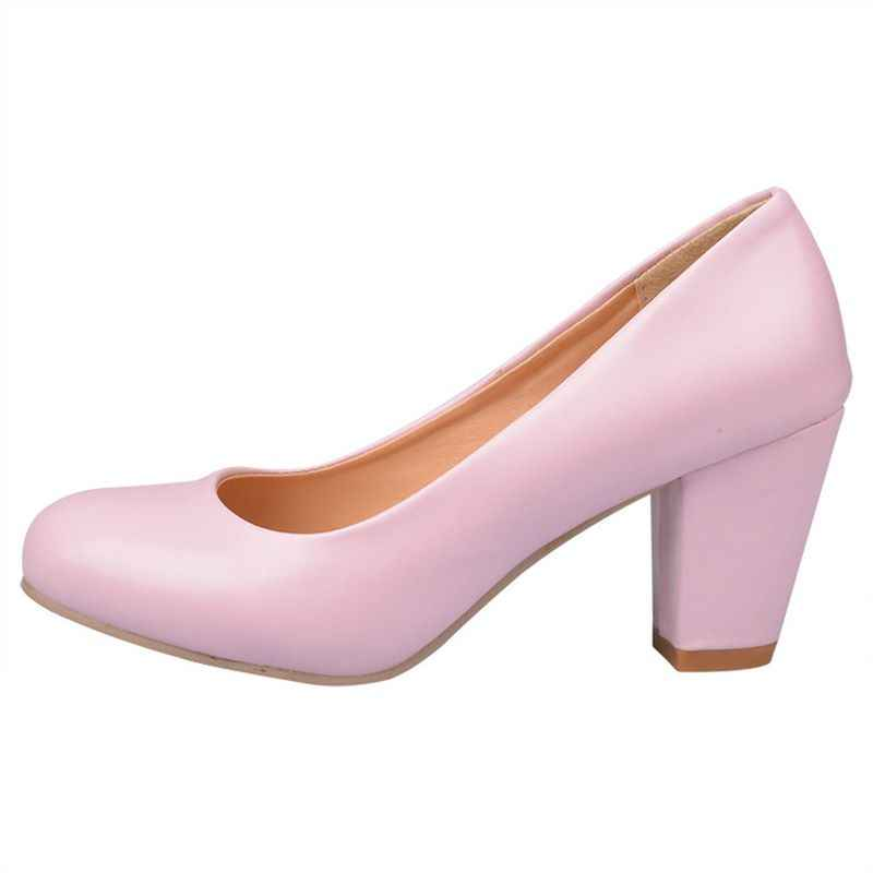2017 Sapato Feminino Zapatos Mujer Tacon Big Size 31-47 Kleur Nieuwe Lente Herfst vrouwen Pompen Vrouwen Schoenen hoge Hakken Pu 222-1