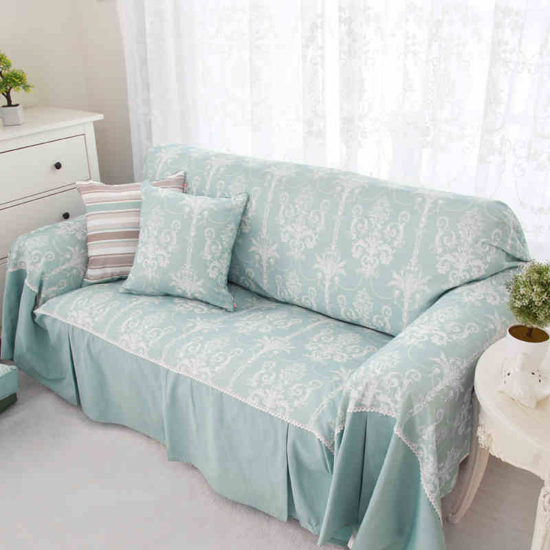 Superieur New Single/Two/Three/Four Seater Sofa Cover Cotton Slip Resistant
