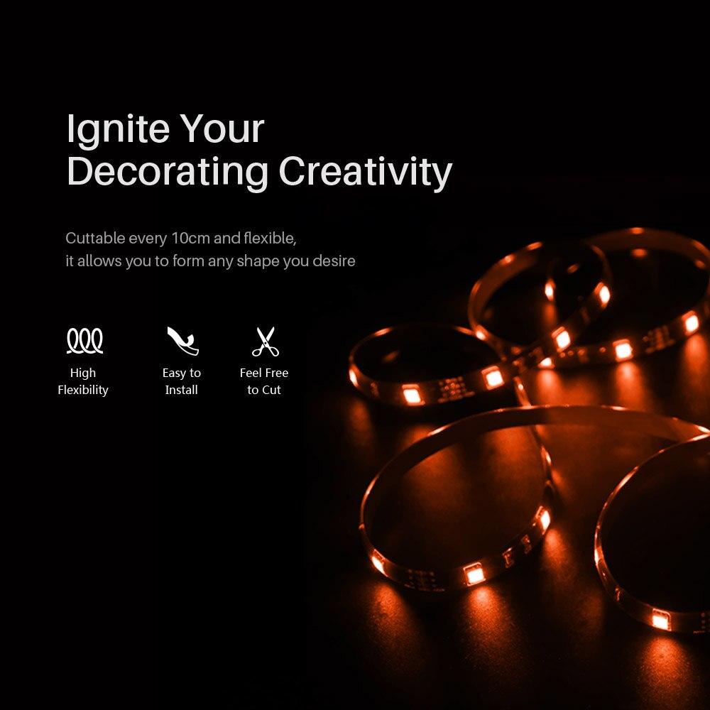 Sonoff L1 Smart Led Light Strip Dimbare Waterdichte Wifi Flexibele Rgb Strip Verlichting Werk Met Alexa Google Thuis, dance Met Muziek 2