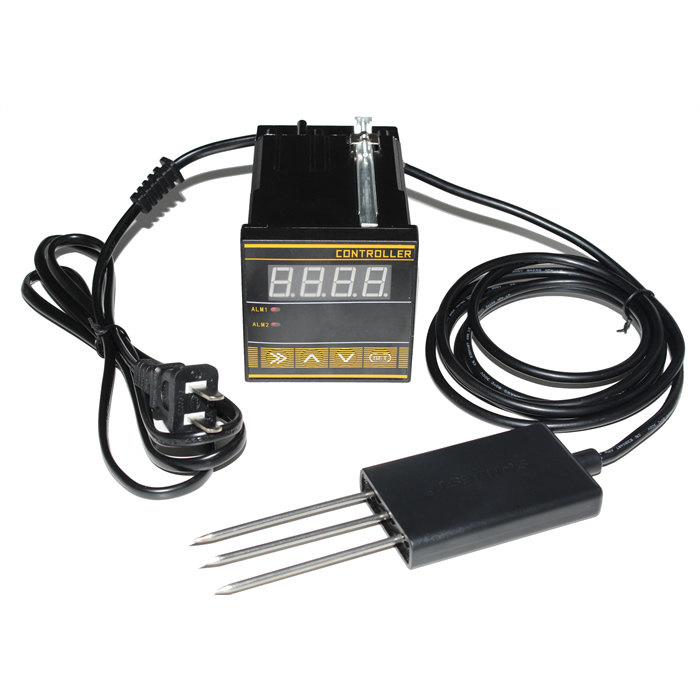 Soil Temperature, Humidity And Moisture Controller Soil Moisture Meter Water Content Measurement, RS485 Communication