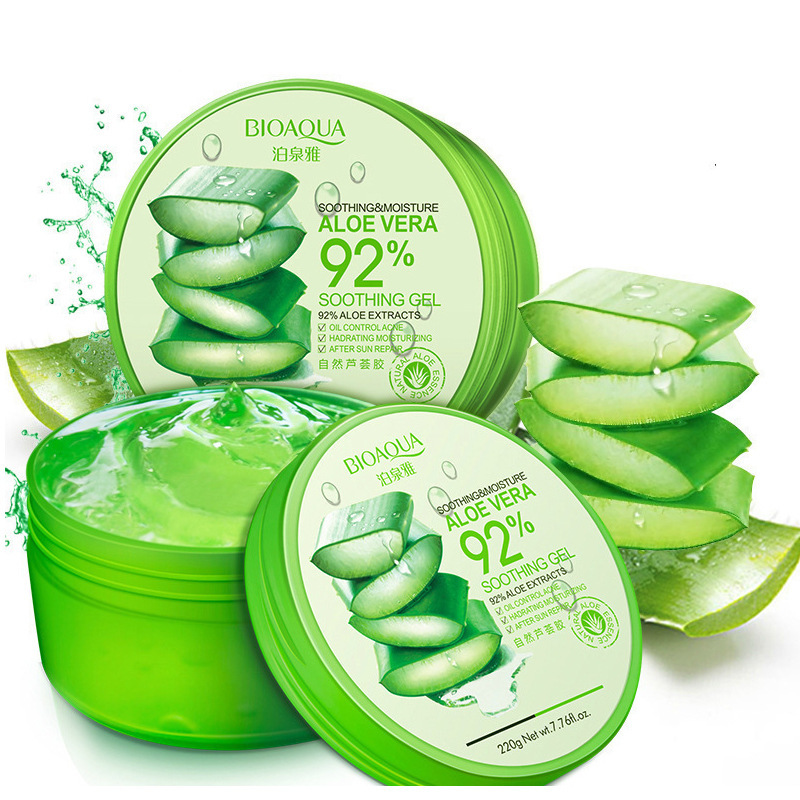 Aloe Soothing Gel Aloe Vera Gels Skin Care Remove Acne Moisturizing Day Cream Sunscreen Aloe Gel Hydrating Face Acne Treatment