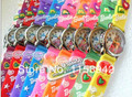 Free Shipping 10pcs Childrens Cartoon Watches  Princess Girls Kids Plastic Band 3D Watch