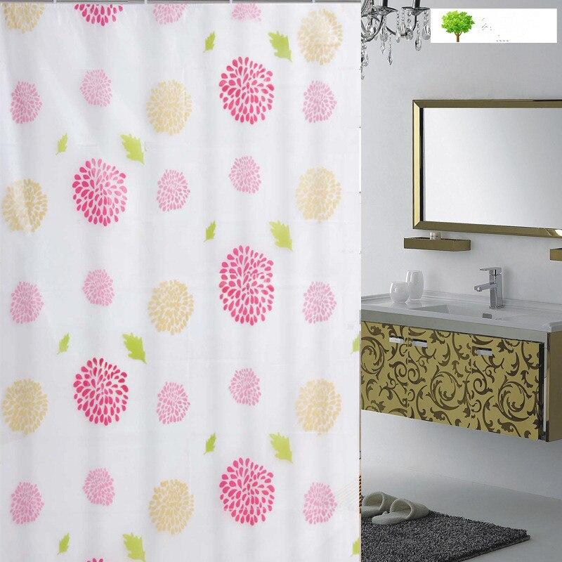 hoge kwaliteit Hot spot gevlekte zon bloem douchegordijn waterdicht - Huishouden