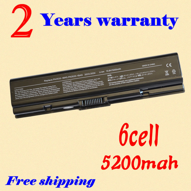 JIGU Replacement Laptop Battery For Toshiba PA3534U-1BRS and Satellite Pro A200, A205, A210, A215, A300, A305, A305D, A355