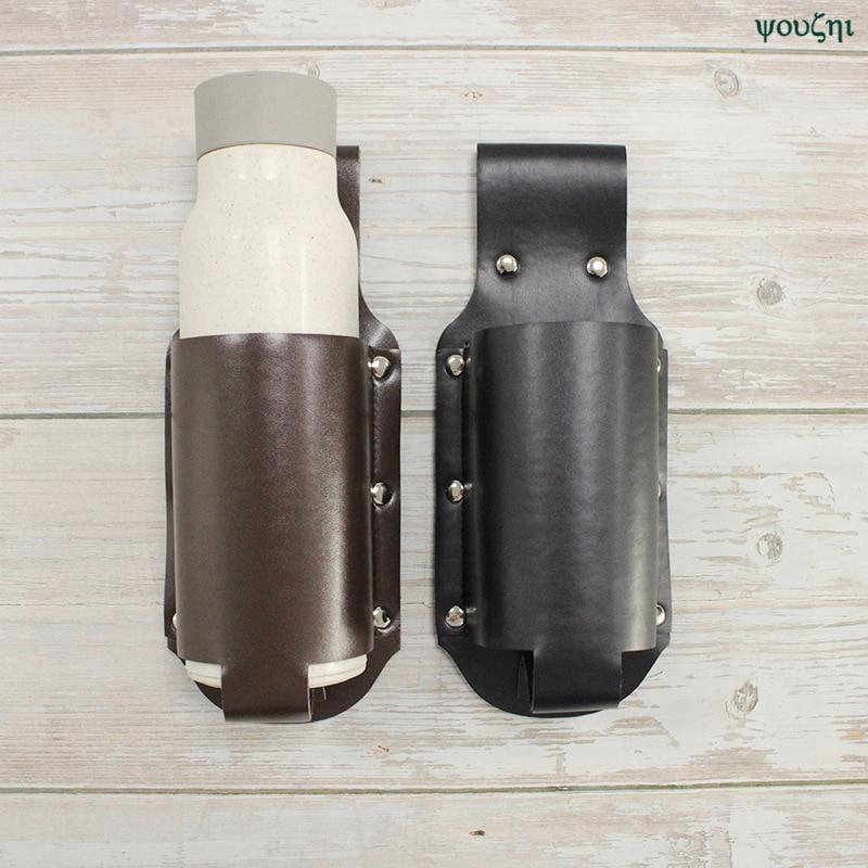 New 1pc Holster Portable Bottle Waist Beer Belt Bag Handy Wine Bottles Beverage Can Holder in Storage Bags from Home Garden