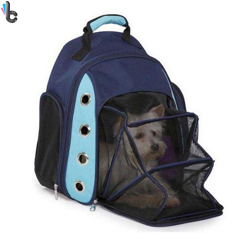 breathable dog backpack pet carrier car seat basket cat pack front bag pet supplies in dog. Black Bedroom Furniture Sets. Home Design Ideas